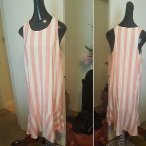 My Story stripe dress. ( Pre-owned)